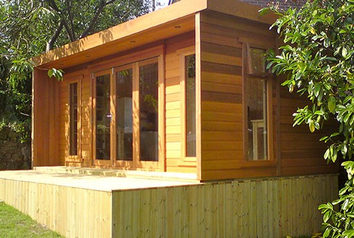 Log Cabins from Tunstall Garden Buildings