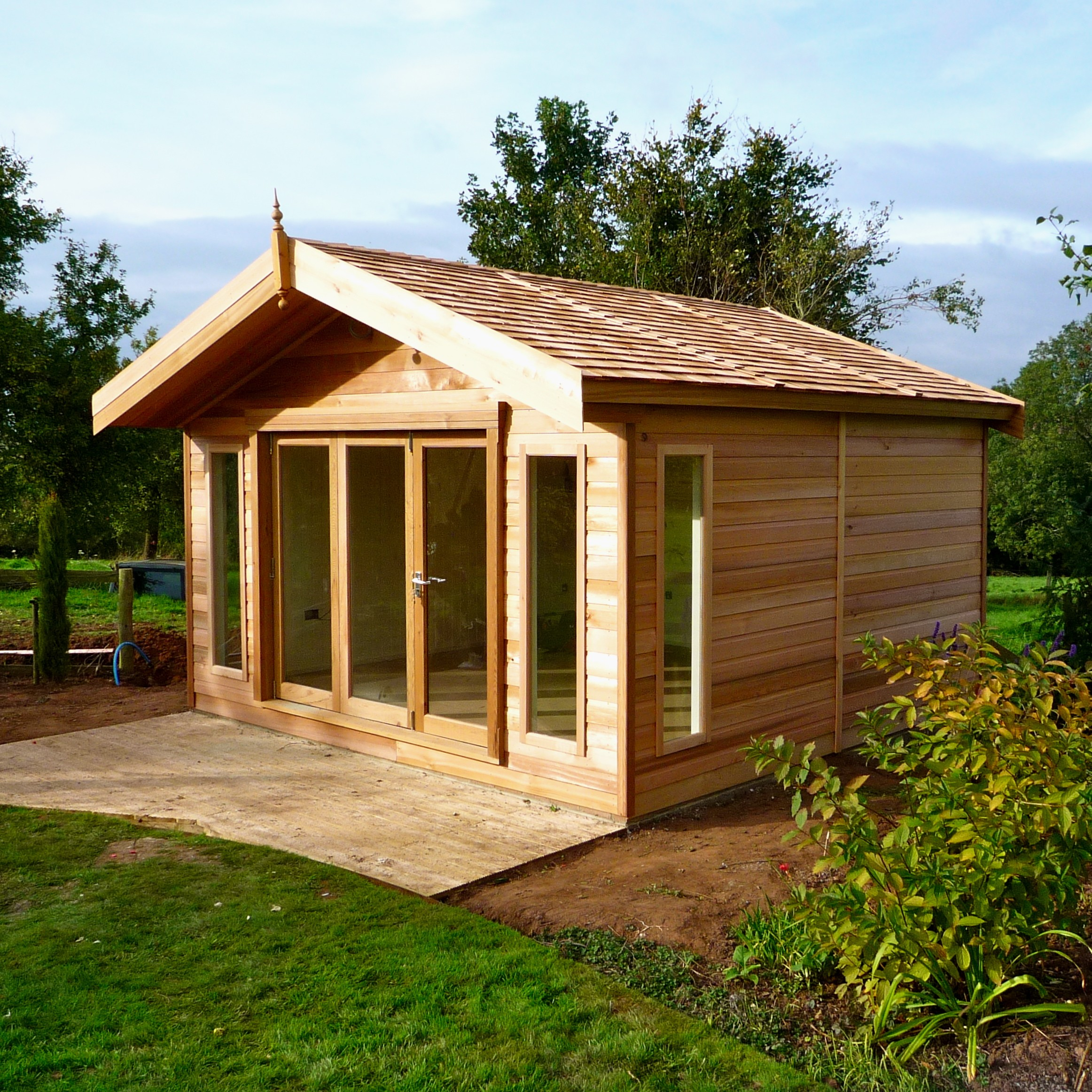Garden Log Cabins For Sale UK, Summer Log Cabins