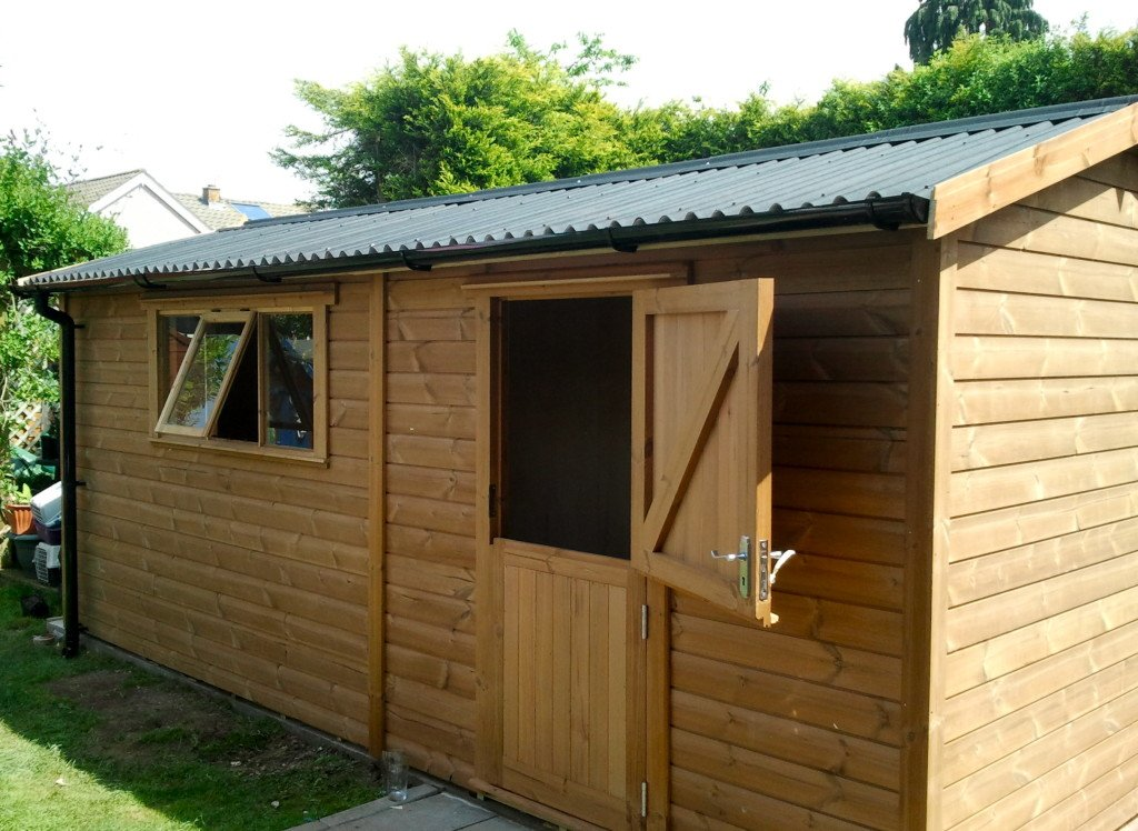 Timber Workshops Wooden Workshops Tunstall Garden Buildings