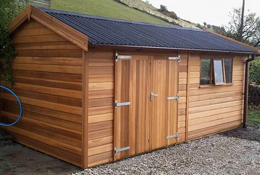 Workshops from Tunstall Garden Buildings