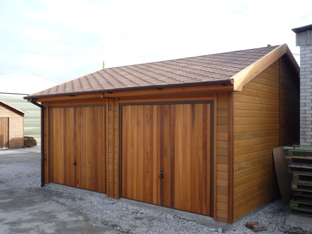 Wooden Garages Uk Timber Garages For Sale Tunstall