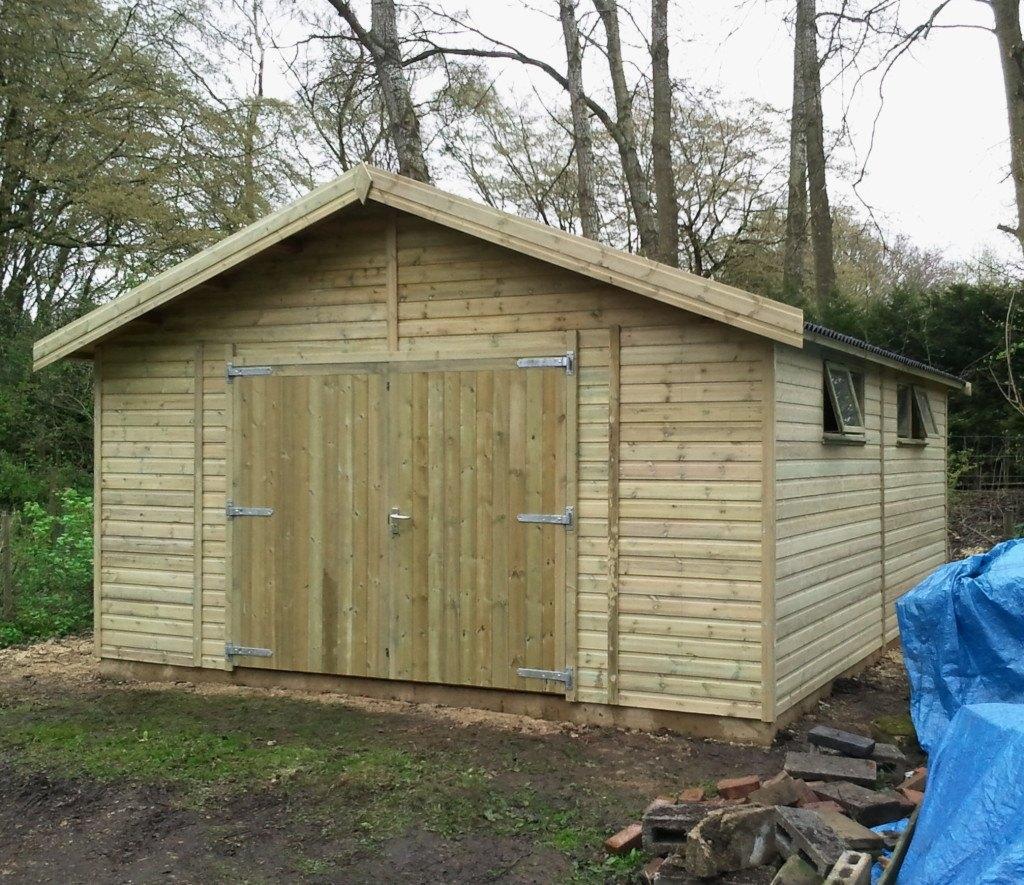 Wooden Garages Uk Timber Garages For Sale Tunstall