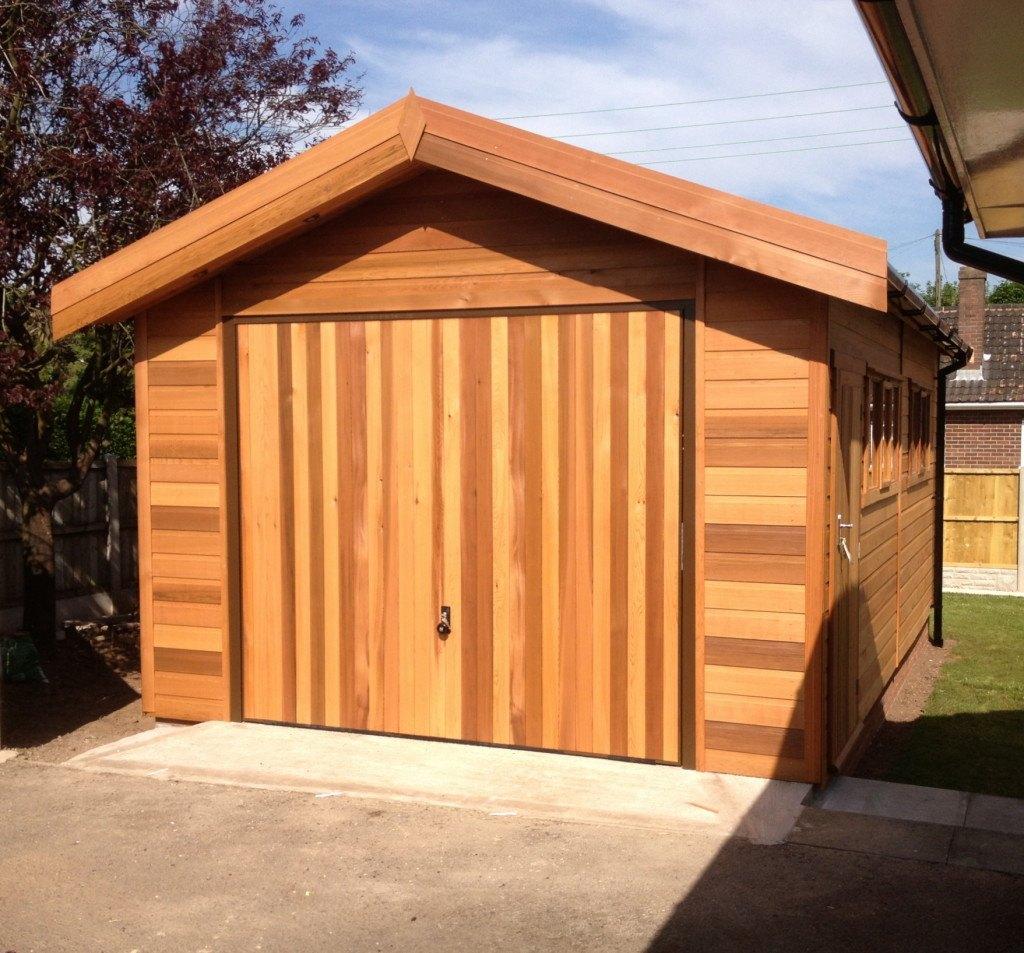 Wooden Garages UK, Timber Garages For Sale