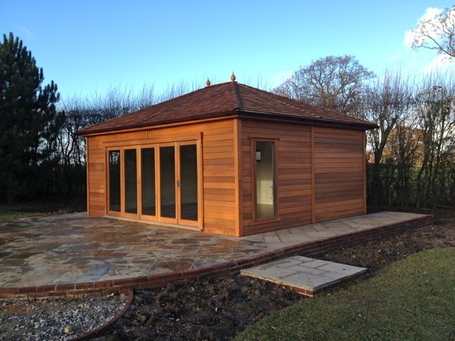 Stockport cedar garden office tunstall garden buildings 1 for Cedar garden office