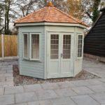10ft x 10ft York Summerhouse with a Cedar shingle roof